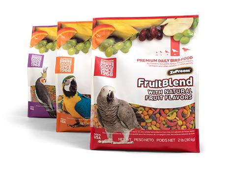 Thực phẩm bổ sung Zupreem FruitBlend