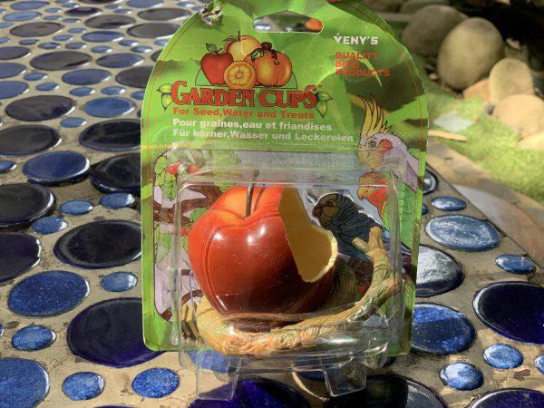 Chén ăn hình dạng trái cây, hoa quả cho vẹt